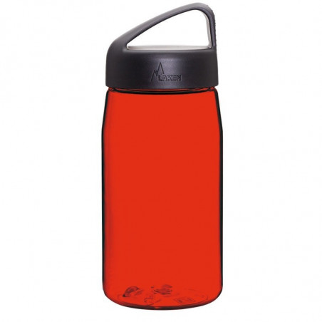 Tritan bottle 0.45 L. red cap