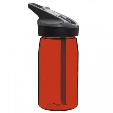 Tritan bottle 0.45 L. red Jannu cap