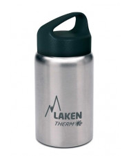St. steel thermo bottle 18/8 - 0,35l - Plain
