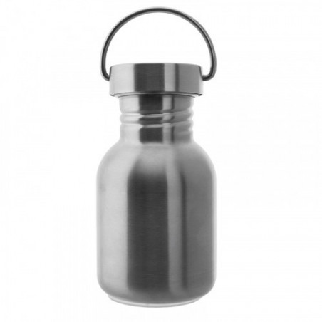 Stainless steel Basic bottle 0.35 L - St. steel sc