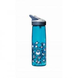 LAKEN CANTEEN ALU hliníková fľaša 1000ml Clasica červená + neoprénový obal