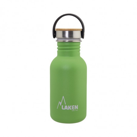 LAKEN BASIC STEEL LÁHVE 500ML ZELENÁ