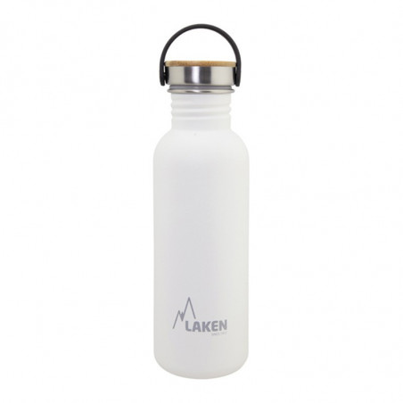 LAKEN BASIC STEEL LÁHVE 750ML BÍLA
