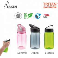 LAKEN TRITAN CLASSIC plastová flaša 450ml biela BPA FREE