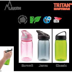 LAKEN TRITAN CLASSIC plastová flaša 450ml - granit - BPA FREE