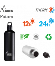 LAKEN FUTURA THERMO stainless thermo bottle 500ml red