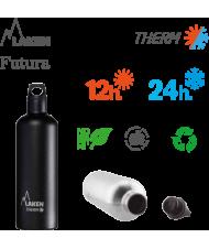 LAKEN FUTURA THERMO stainless thermo bottle 500ml silver